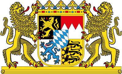 Large coat of arms of Bavaria
